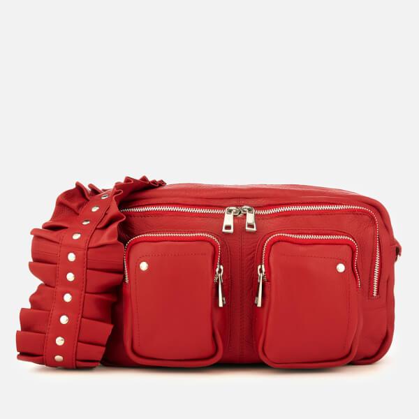 Núnoo Women's Alimakka Ruffle Bag - Red