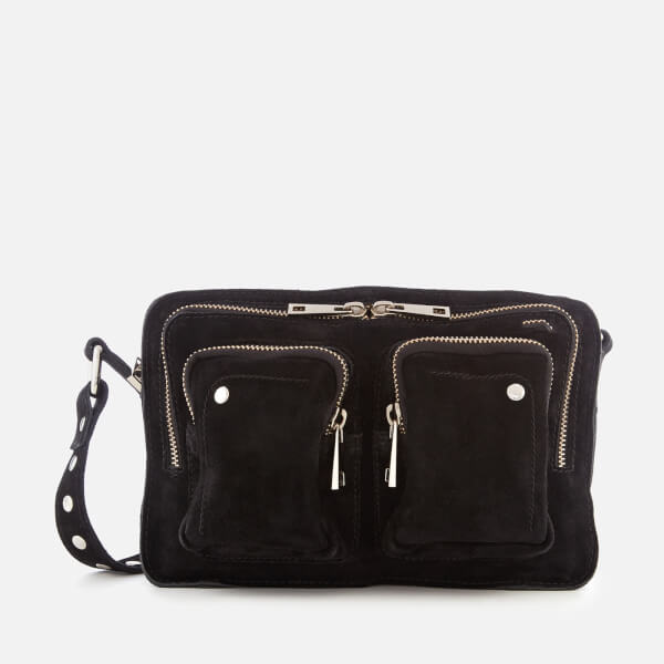 Núnoo Women's Ellie New Suede Bag - Black