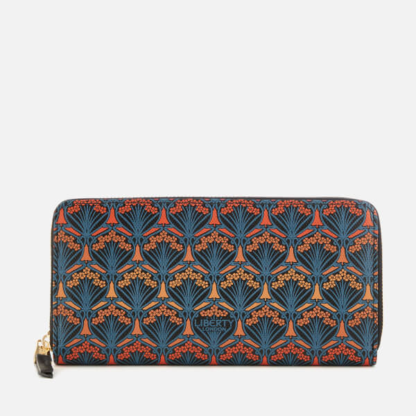 Liberty London Women's Dawn Large Zip Around Wallet - Orange