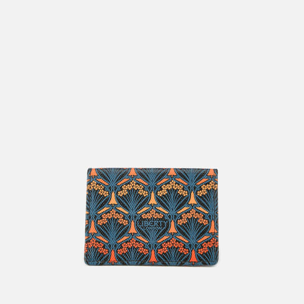 Liberty London Women's Dawn Travel Card Holder - Orange