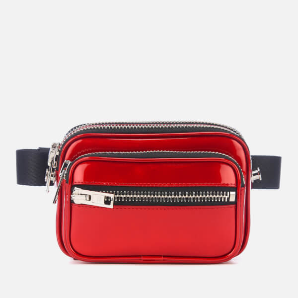 Alexander Wang Women's Attica Soft Patent Belt Bag - Red