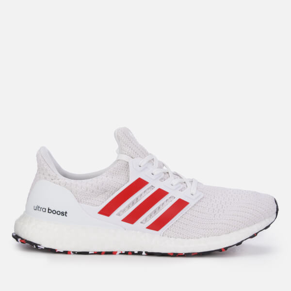 62a947ad7 ... promo code for adidas mens ultra boost trainers white red image 1 da7f2  842b3 ...