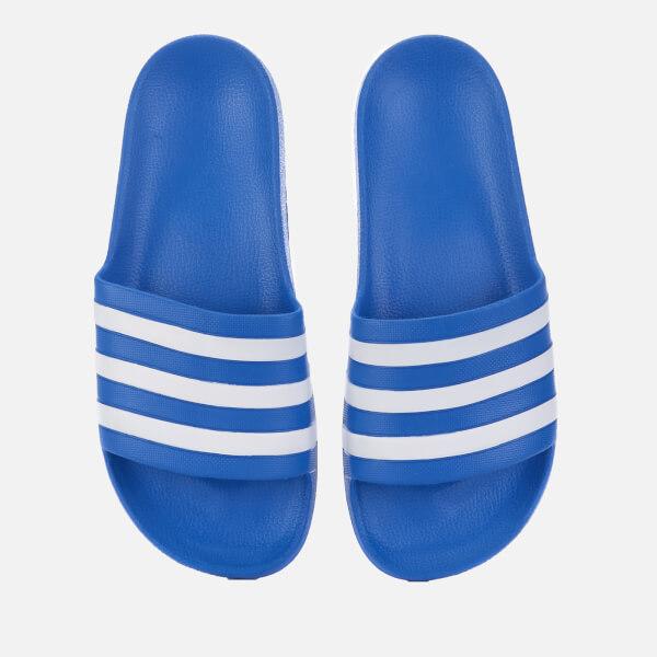 1f4e14663ca8 adidas Men s Adilette Aqua Slide Sandals - True Blue Sports ...