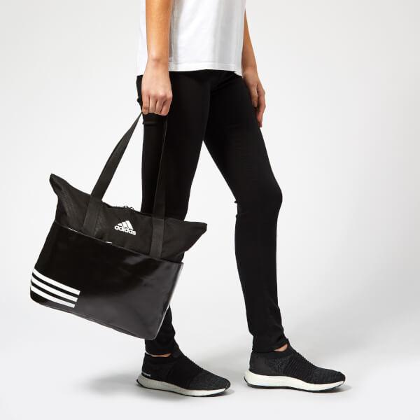 9977c2ad994a adidas Women s 3 Stripe Tote Bag - Black Sports   Leisure