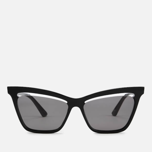 McQ Alexander McQueen Women's Cat-Eye Sunglasses - Black
