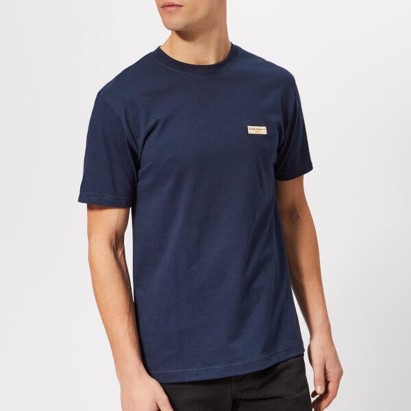 Nudie Jeans Men's Daniel Logo T-Shirt - Midnight
