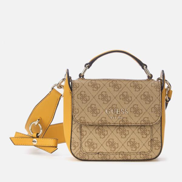 Guess Women's Kathryn Mini Shoulder Bag - Brown/Multi