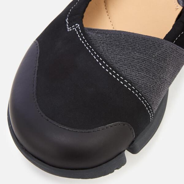 cd65687e6f Clarks Women's Tri Adapt Nubuck Flats - Black | FREE UK Delivery ...