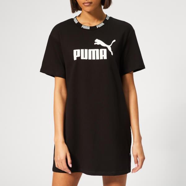 Puma Women's Amplified Sweatshirt Dress - Cotton Black