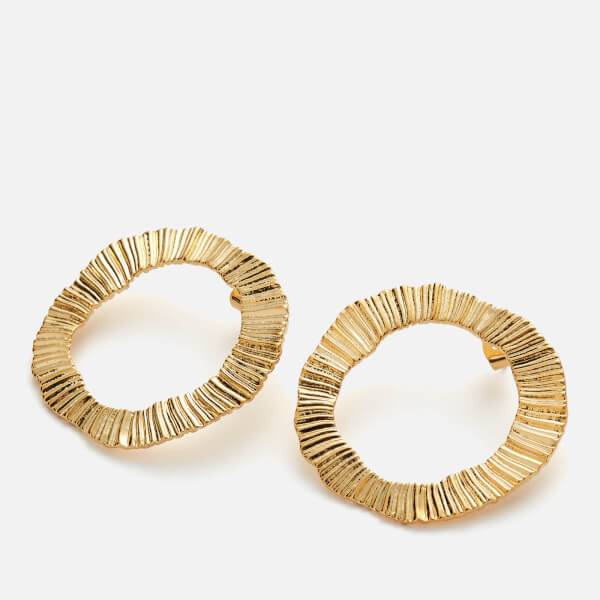 Whistles Women's Irregular Earrings - Gold