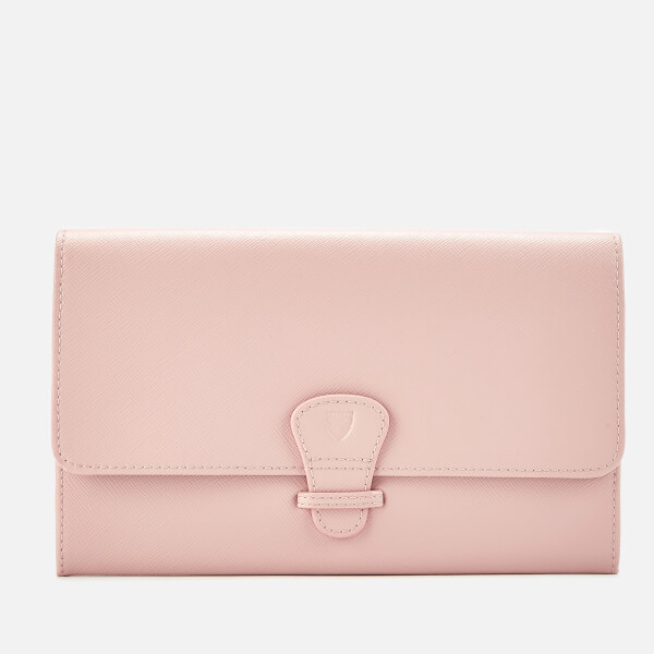 Aspinal of London Women's Travel Wallet - Classic - Peony