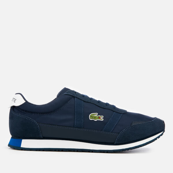 Lacoste Men's Partner 119 4 Runner Style Trainers - Navy/White
