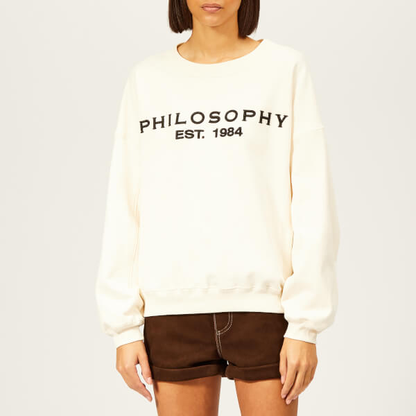 Philosophy di Lorenzo Serafini Women's Logo Sweatshirt - Cream