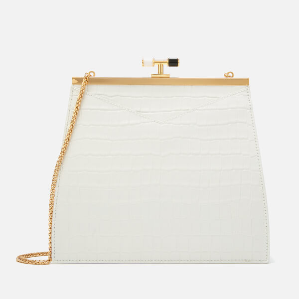 The Volon Women's Chateau Simple Bag - White