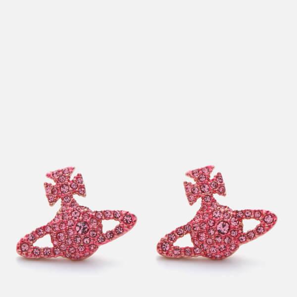 Vivienne Westwood Women's Grace Bas Relief Stud - Light Rose/Pink Gold