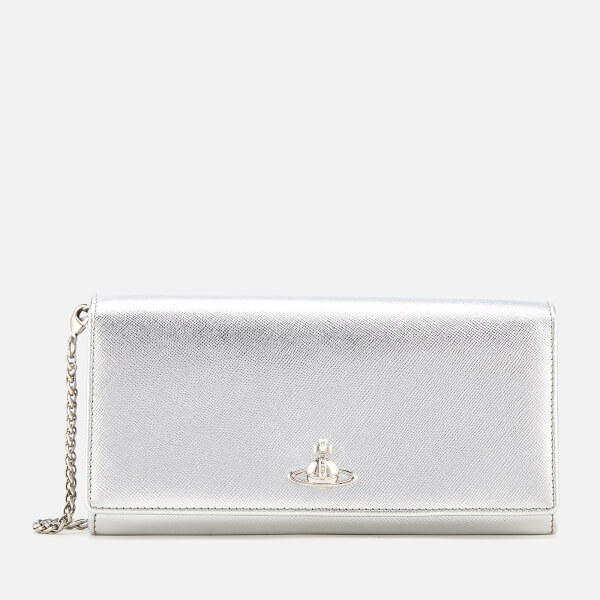 Vivienne Westwood Women's Pimlico Long Wallet with Chain - Silver