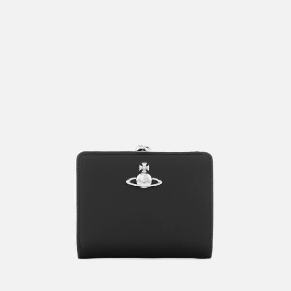 8227d7088a0 Vivienne Westwood Women's Wallet with Frame Pocket - Black: Image 1