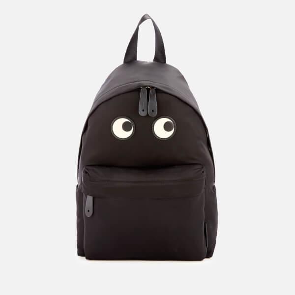 Anya Hindmarch Women's Nylon Eyes Backpack - Black