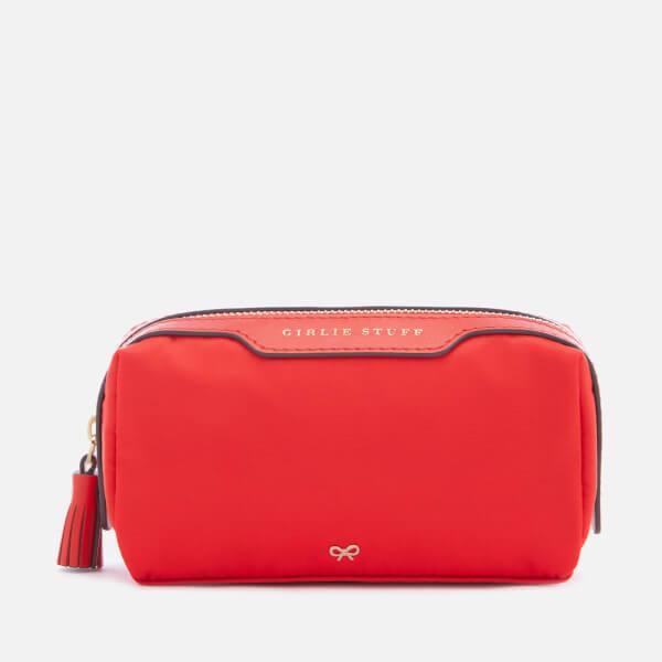 Anya Hindmarch Women's Nylon Girlie Stuff Circus Make Up Bag - Red