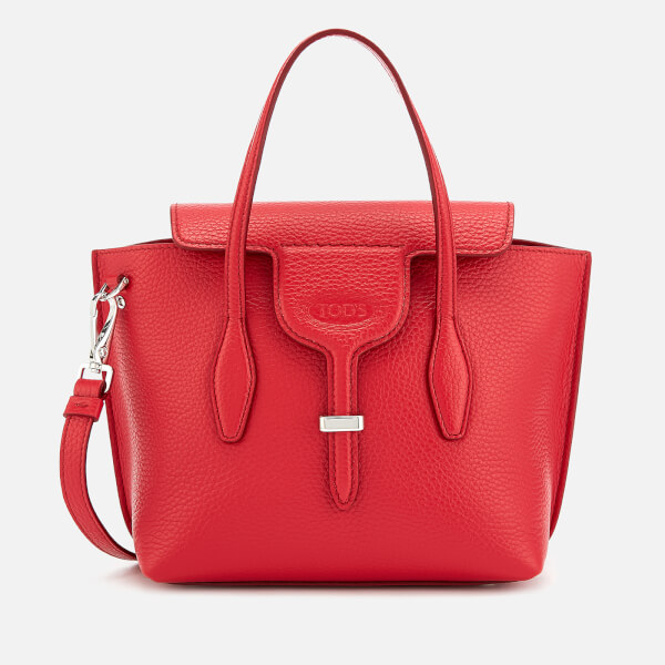 Tod s Women s Mini Tote Bag - Red - Free UK Delivery over £50 7c90b2d550