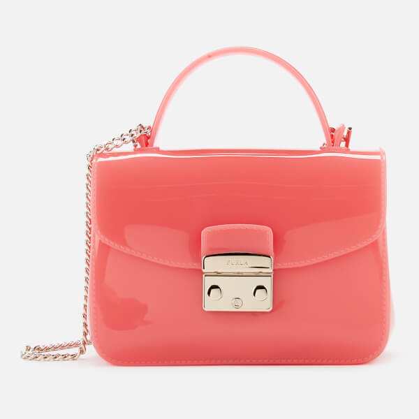 Furla Women's Candy Meringa Mini Cross Body Bag - Mandarin