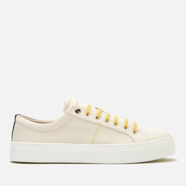 Ted Baker Men's Eshron Textile Low Top Trainers - White