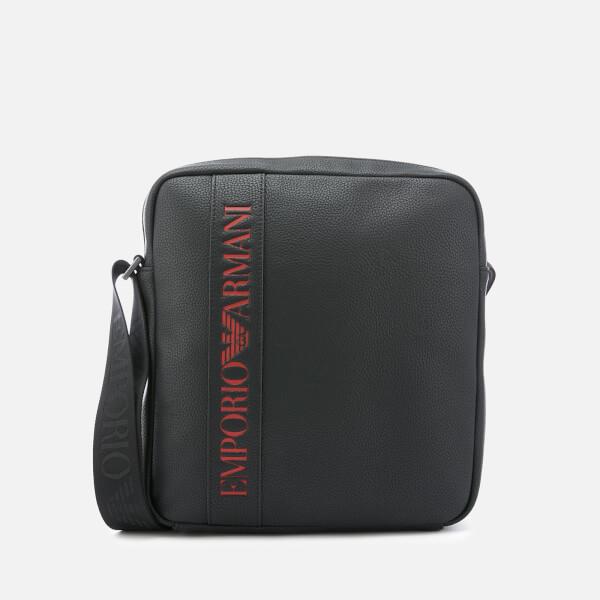 Emporio Armani Men's Cross Body Bag - Black
