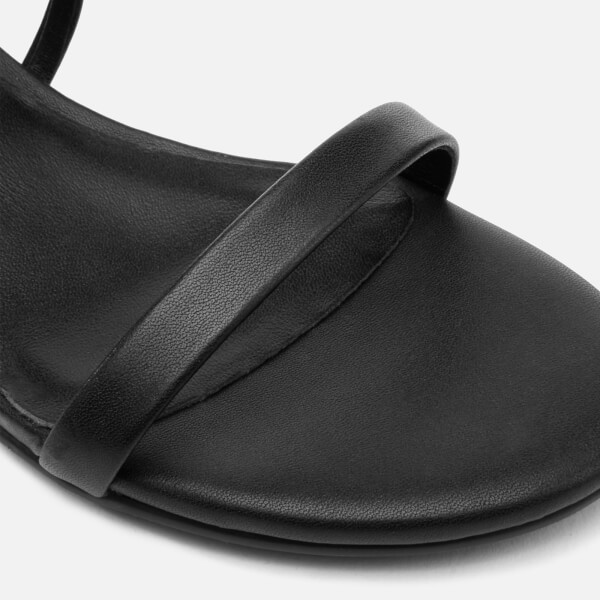Uk Heeled EbonyFree Senso Sandals Women's Block Jemini Leather pUVSzM