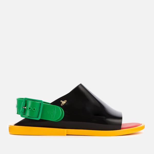 Vivienne Westwood for Melissa Women's Twist Flat Sandals - Black Contrast