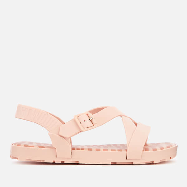 Vivienne Westwood for Melissa Women's Hermanos Strappy Sandals - Baby Pink