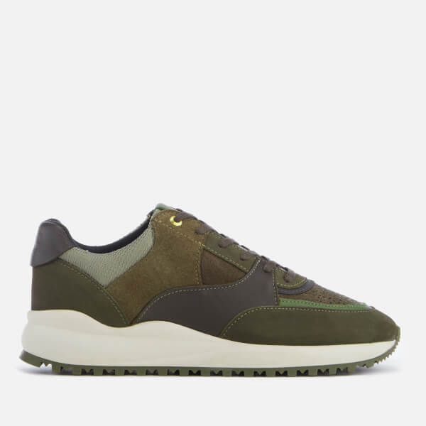 b0bdc107c4d9 Android Homme Men s Belter 3.0 Stingray Suede Trainers - Dark  Sage Olive Taupe