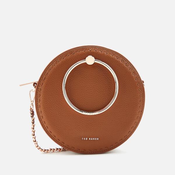 Ted Baker Women's Madddie Stab Stitch Circle Bag - Brown