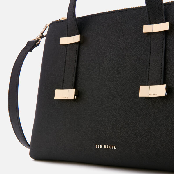 a09edb141f60 Ted Baker Women s Julieet Bow Adjustable Handle Small Tote Bag - Black   Image 4