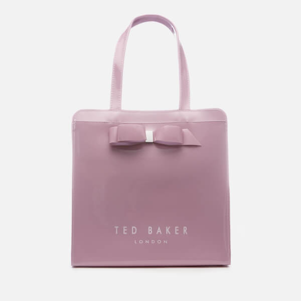 e991a33971c Ted Baker Women's Arycon Bow Detail Small Icon Bag - Light Purple: Image 1