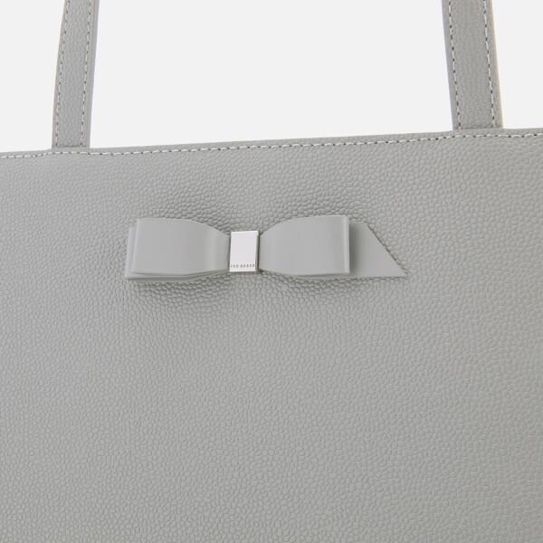 f8a21555a65ab Ted Baker Women s Jjesica Bow Detail Shopper Bag - Grey Womens ...