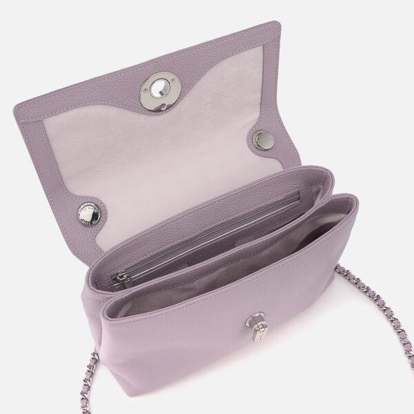37367d0ac Ted Baker Women s Sylvana Circle Lock Cross Body Bag - Light Purple  Image 5
