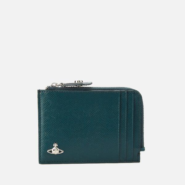 Vivienne Westwood Men's Kent Credit Card Holder - Petrol