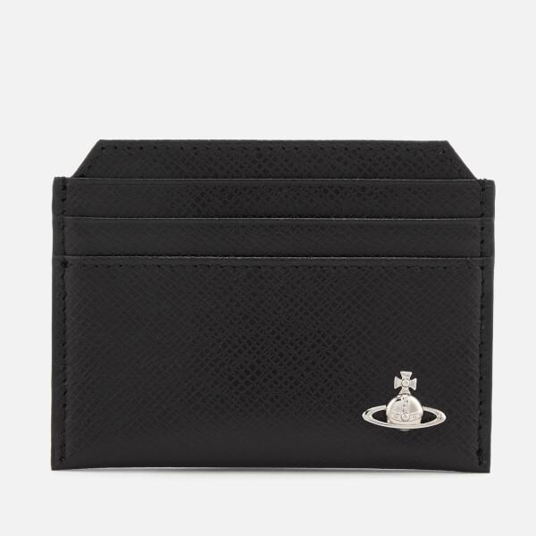 Vivienne Westwood Men's Kent Slim Card Holder - Black