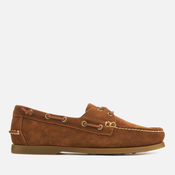 a03ab34f796c Polo Ralph Lauren Men s Merton Suede Boat Shoes - New Snuff  Image 1