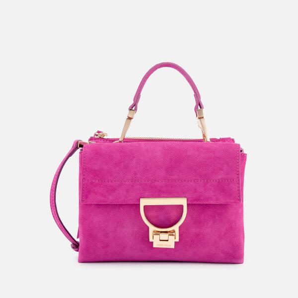 Coccinelle Women's Arlettis Suede Cross Body Bag - Ultra Violet
