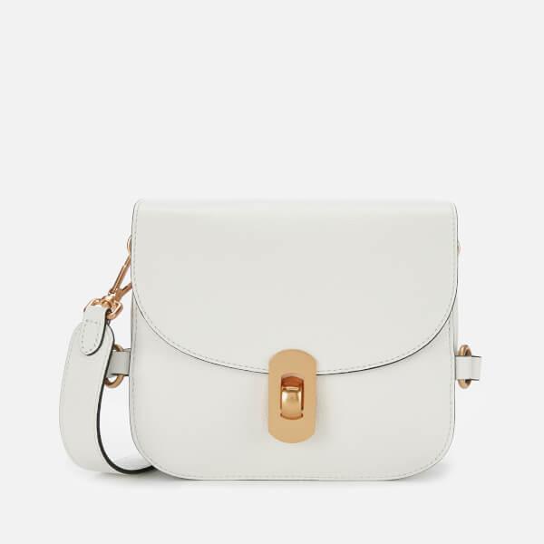 Coccinelle Women's Zaniah Cross Body Bag - White