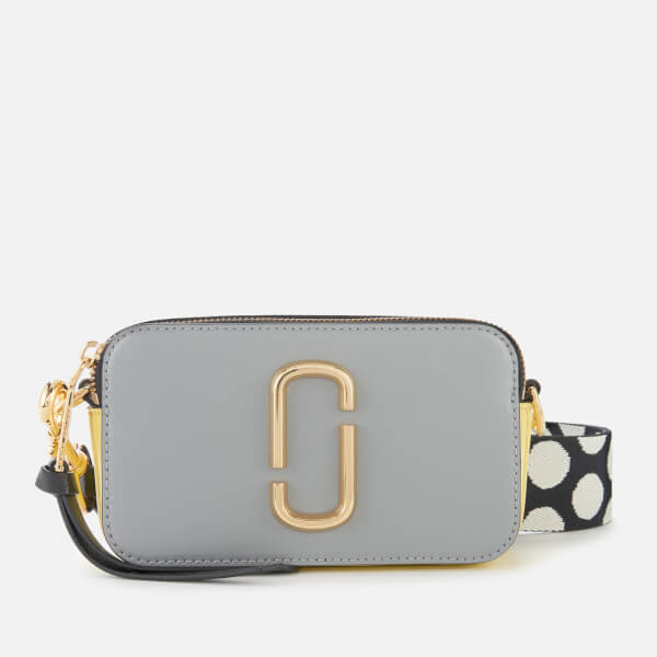 Marc Jacobs Women's Snapshot Bag - Rock Grey Multi