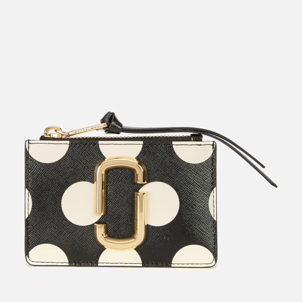 Marc Jacobs Women's Top Zip Multi Wallet - Black Multi
