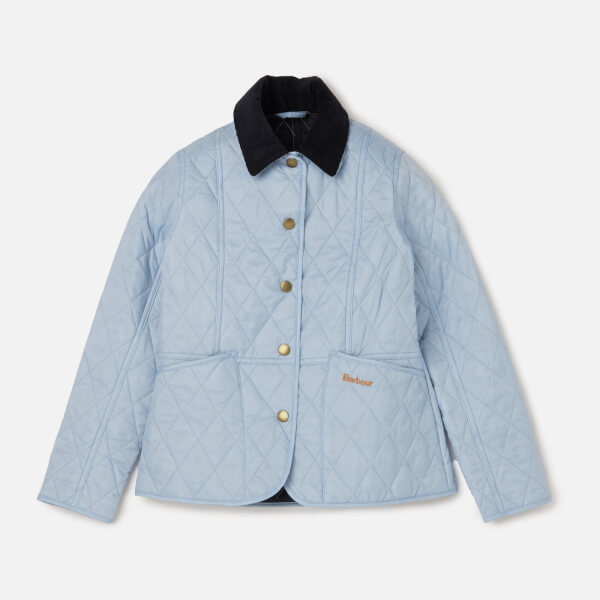 18649e623c3 Barbour Girls  Summer Liddesdale Jacket - Powder Blue Navy Clothing ...
