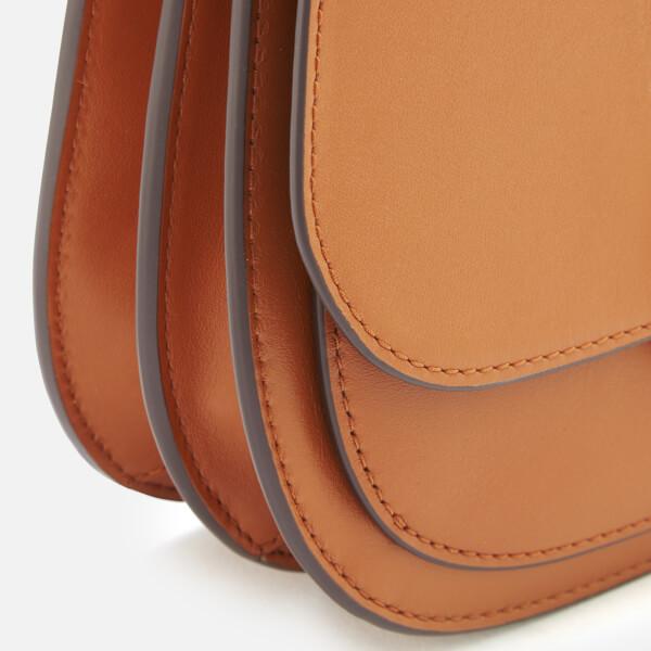 1cf0ec74afc7 MICHAEL MICHAEL KORS Women s Lillie Medium Saddle Messenger Bag - Acorn   Image 4