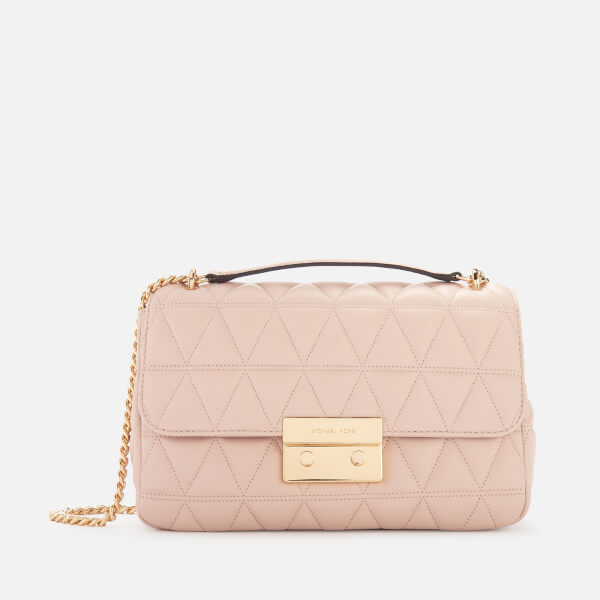 3a67cb976c MICHAEL MICHAEL KORS Women s Sloan Large Chain Shoulder Bag - Soft Pink   Image 1
