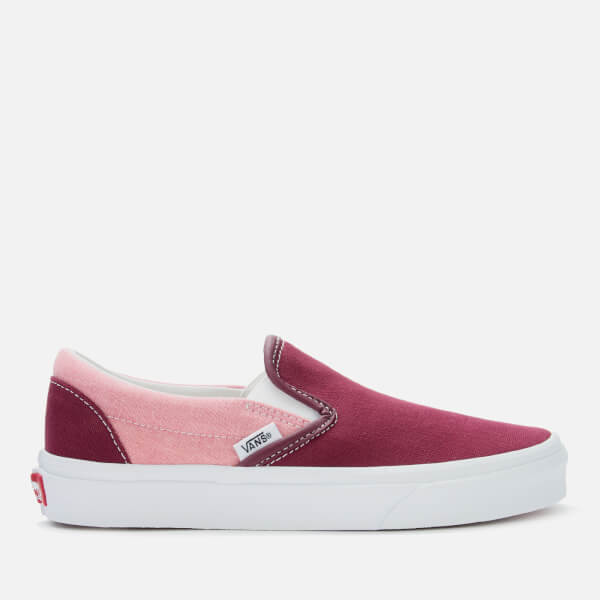 Vans Women's Chambray Slip-On Trainers - Canvas Port Royale/True White
