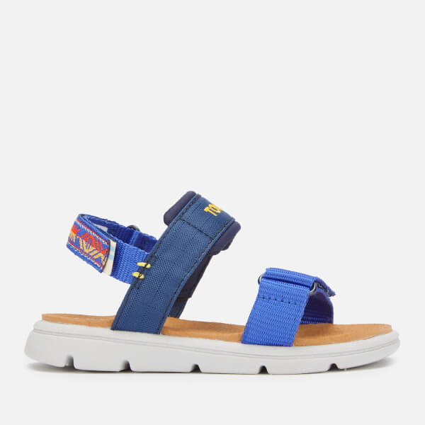 TOMS Toddlers' Ray Vegan Water Resistant Sandals - Navy