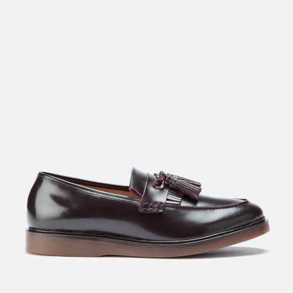 Hudson London Men's Calne Kiltie Tassel Loafers - Bordo