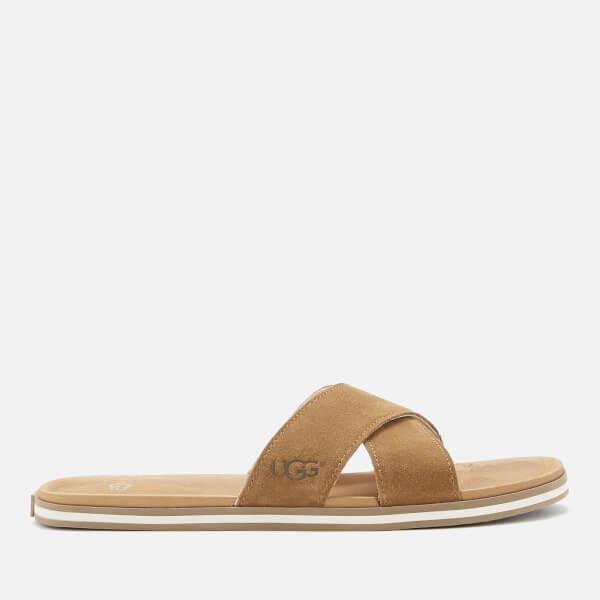 UGG Men's Beach Slide Sandals - Chestnut